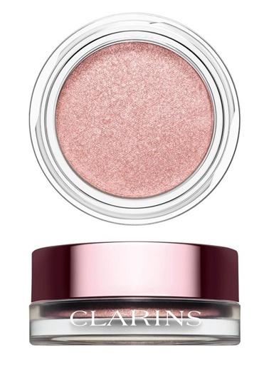 Clarins Clarins Göz Farı - Ombre Iridescente Eyeshadow 09 Silver Rose Pembe